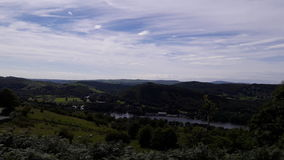 Μια άποψη της περιοχής λιμνών Στοκ Εικόνα