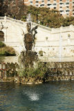 Μια άποψη της πηγής Parc de Λα Ciutadella, στη Βαρκελώνη, Ισπανία Στοκ Φωτογραφία