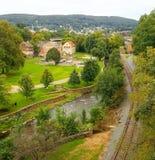 Μια άποψη της πόλης μας στοκ φωτογραφία με δικαίωμα ελεύθερης χρήσης