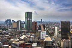 Μια άποψη της στο κέντρο της πόλης Πόλης του Μεξικού, Μεξικό Στοκ εικόνα με δικαίωμα ελεύθερης χρήσης