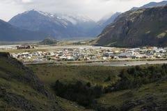 Μια άποψη της EL Chalten στοκ εικόνα με δικαίωμα ελεύθερης χρήσης