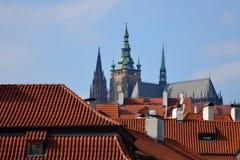 Μια άποψη του καθεδρικού ναού του ST Vitus Στοκ Φωτογραφία