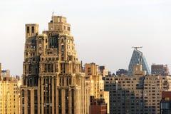Μια άποψη του Μανχάταν, ορίζοντας NYC Στοκ Εικόνες