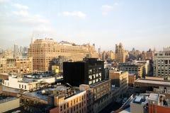 Μια άποψη του Μανχάταν, ορίζοντας NYC Στοκ φωτογραφίες με δικαίωμα ελεύθερης χρήσης