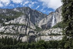 Μια άποψη του μεγαλοπρεπούς Yosemite στοκ φωτογραφίες