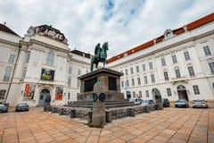 Μια άποψη του προαυλίου του παλατιού Hofburg στη Βιέννη, Αυστρία Στοκ Φωτογραφία