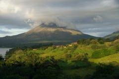 Μια άποψη Arenal του ηφαιστείου, Κόστα Ρίκα Στοκ εικόνες με δικαίωμα ελεύθερης χρήσης
