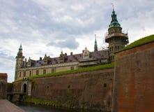 Μια άποψη Kronborg Castle στοκ εικόνα