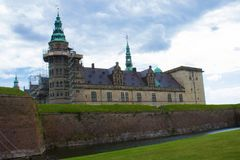 Μια άποψη Kronborg Castle στοκ εικόνα με δικαίωμα ελεύθερης χρήσης