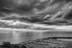 Μια άποψη Piriapolis από το Hill του Σαν Φρανσίσκο Στοκ εικόνα με δικαίωμα ελεύθερης χρήσης