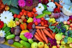 Μια δέσμη των διαφορετικών λαχανικών Στοκ Φωτογραφία