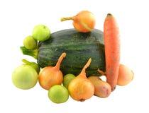 Μια δέσμη των διαφορετικών λαχανικών Στοκ εικόνες με δικαίωμα ελεύθερης χρήσης