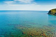 Μια ήρεμη θάλασσα Στοκ φωτογραφία με δικαίωμα ελεύθερης χρήσης