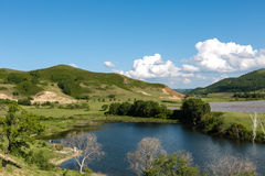 Μια λίμνη στο λιβάδι στοκ φωτογραφία με δικαίωμα ελεύθερης χρήσης