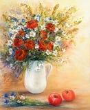 Μια ανθοδέσμη λουλουδιών Στοκ φωτογραφίες με δικαίωμα ελεύθερης χρήσης