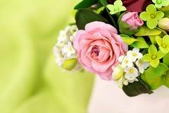 Μια ανθοδέσμη τα λουλούδια ζάχαρης Στοκ εικόνα με δικαίωμα ελεύθερης χρήσης