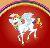 Μια απεικόνιση του αλόγου Pegasus Στοκ φωτογραφία με δικαίωμα ελεύθερης χρήσης
