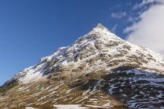 Μια από τις αιχμές στα όρη Bernina Στοκ φωτογραφία με δικαίωμα ελεύθερης χρήσης