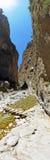 Φαράγγι Samaria Στοκ Φωτογραφίες