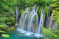 Μια από τις ομορφότερες θέσεις στον κόσμο Plitvice - Κροατία Στοκ Φωτογραφίες