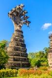 Μια από τις στάσεις του Βούδα σε Sala Keoku, το πάρκο του γίγαντα fant στοκ εικόνες
