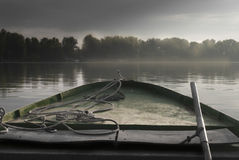 Μια απλή βάρκα Στοκ Εικόνες