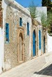 Μια ασιατική είσοδος, Τυνησία Στοκ Φωτογραφίες
