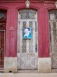 Μια αφίσα του Φιντέλ Κάστρου στην Αβάνα, Κούβα στοκ εικόνες με δικαίωμα ελεύθερης χρήσης