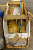Μια βάρκα σειρών σε Canido στοκ εικόνα με δικαίωμα ελεύθερης χρήσης