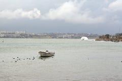 Μια βάρκα Στοκ Φωτογραφία