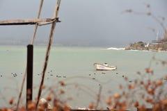 Μια βάρκα Στοκ Εικόνες