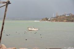 Μια βάρκα Στοκ φωτογραφίες με δικαίωμα ελεύθερης χρήσης