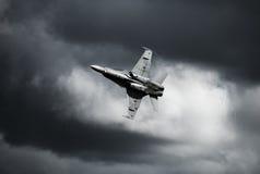 Boeing F/A-18E/F έξοχο Hornet Στοκ εικόνες με δικαίωμα ελεύθερης χρήσης