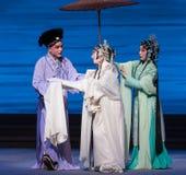 """Μια βοήθεια χέρι-Kunqu Opera""""Madame άσπρο Snake† Στοκ φωτογραφία με δικαίωμα ελεύθερης χρήσης"""