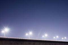 Μια γέφυρα στη Σεούλ τη νύχτα στοκ φωτογραφία με δικαίωμα ελεύθερης χρήσης