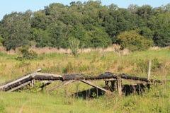 Μια γέφυρα χρησιμοποιούμενη στοκ εικόνες με δικαίωμα ελεύθερης χρήσης