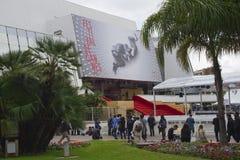 Μια γενική άποψη της ατμόσφαιρας Palais des Festivals Στοκ φωτογραφία με δικαίωμα ελεύθερης χρήσης