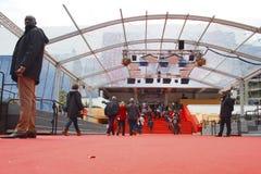 Μια γενική άποψη της ατμόσφαιρας Palais des Festivals Στοκ Εικόνες