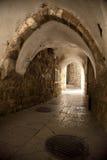 Παλαιά σήραγγα της Ιερουσαλήμ Στοκ εικόνες με δικαίωμα ελεύθερης χρήσης