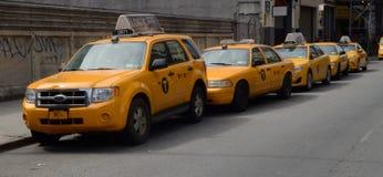 Μια γραμμή Taxis NYC Tom Wurl Στοκ φωτογραφίες με δικαίωμα ελεύθερης χρήσης