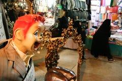 Μια γυναίκα στην αγορά στοκ φωτογραφίες