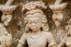 Μια γλυπτική ενός Apsara Στοκ φωτογραφία με δικαίωμα ελεύθερης χρήσης