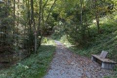 Μια διάβαση πεζών στην Αυστρία στοκ φωτογραφίες με δικαίωμα ελεύθερης χρήσης