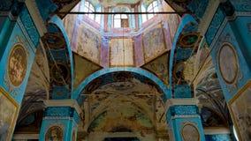 Μια εγκαταλειμμένη εκκλησία στοκ εικόνες