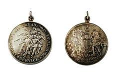 Καναδικό εθελοντικό μετάλλιο υπηρεσιών Στοκ φωτογραφία με δικαίωμα ελεύθερης χρήσης