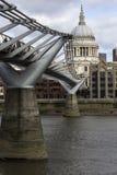 Μια εικονική παράσταση πόλης του Λονδίνου στοκ εικόνες