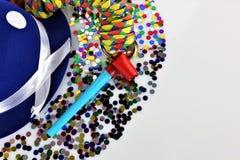 Μια εικόνα έννοιας ενός κόμματος κομφετί καρναβαλιού Στοκ Εικόνα