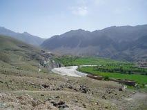 Μια εικόνα από την επαρχία Αφγανιστάν Daikondy στοκ εικόνα