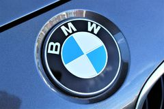 Μια εικόνα ενός λογότυπου της BMW - Hameln/Γερμανία - 07/18/2017 Στοκ φωτογραφία με δικαίωμα ελεύθερης χρήσης