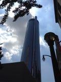 Μια εικόνα ενός ουρανοξύστη Ατλαντικού ν στοκ φωτογραφία με δικαίωμα ελεύθερης χρήσης